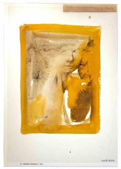 Portrait - Original Drawing by Leo Guida - 1964