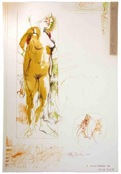 1960s Nude Drawings and Watercolors