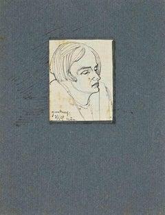 The Portrait - Original Drawing - 1929