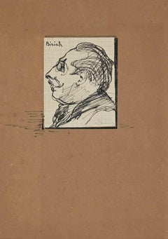 The Portrait - Original Drawing - Early 20th Century