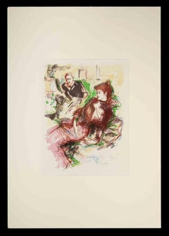 The Envy - Original Drawing - Early 20th Century