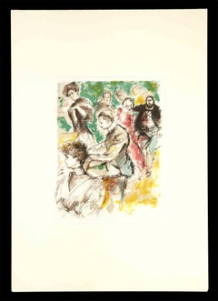 The Little Concert - Original Drawing - Early 20th Century