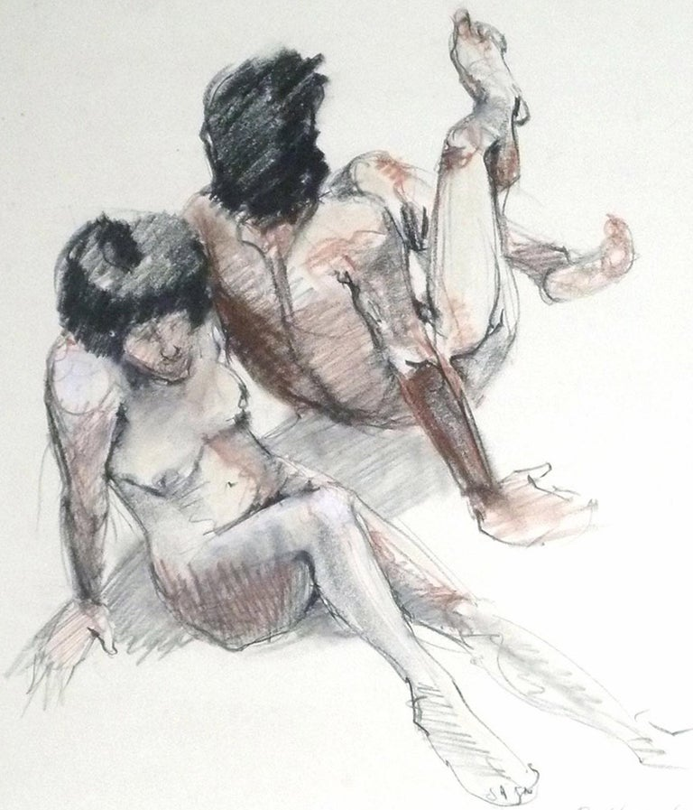 Sit In - Art by Gina Bellando