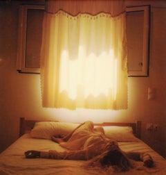 The Visit - Contemporary, Polaroid, Photograph, Figurative, Portrait