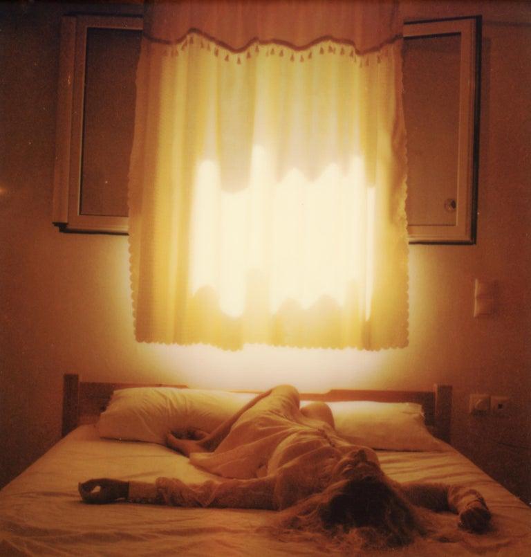 Clare Marie Bailey Color Photograph - The Visit - Contemporary, Polaroid, Photograph, Figurative, Portrait