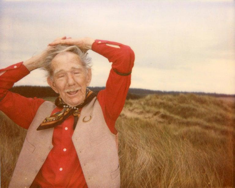 Clare Marie Bailey Color Photograph - Cyril - Contemporary, Polaroid, Photograph, Figurative, Portrait