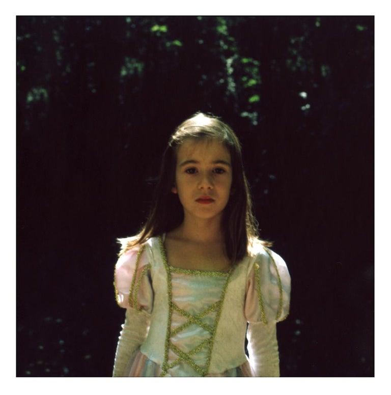Cristina Fontsare Color Photograph - Gabriela at 7 - Contemporary, Polaroid, Photograph, Youth. 21st Century, Color