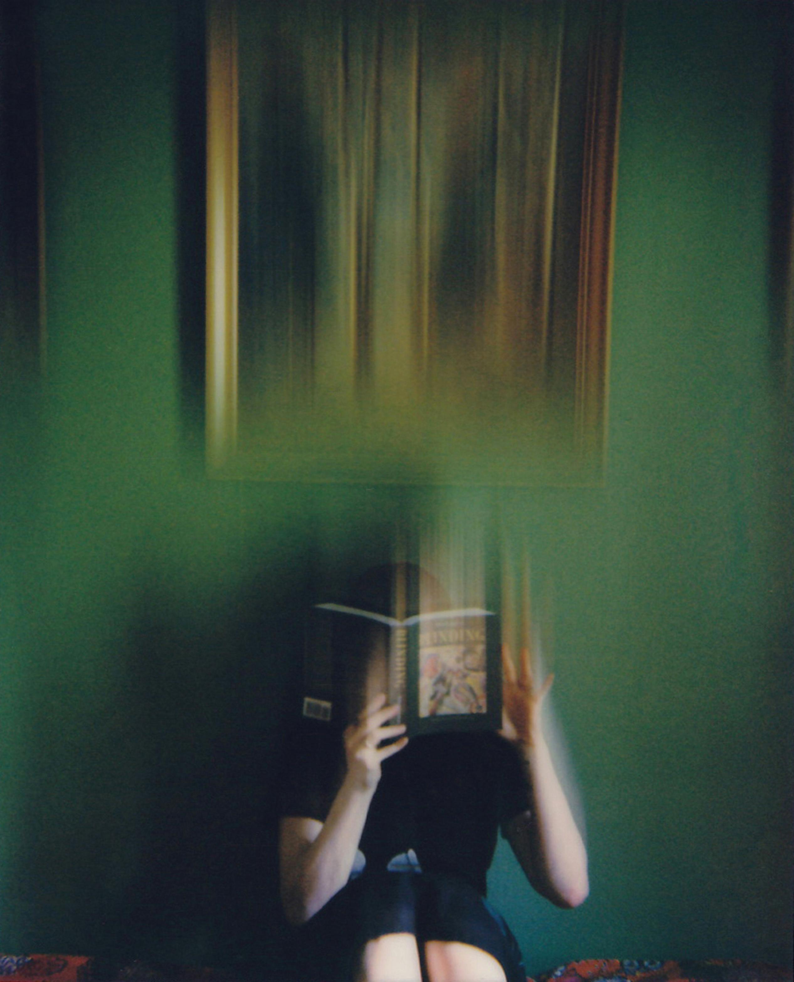 Blinding - Contemporary, Figurative, Woman, Polaroid, Photograph, 21st Century