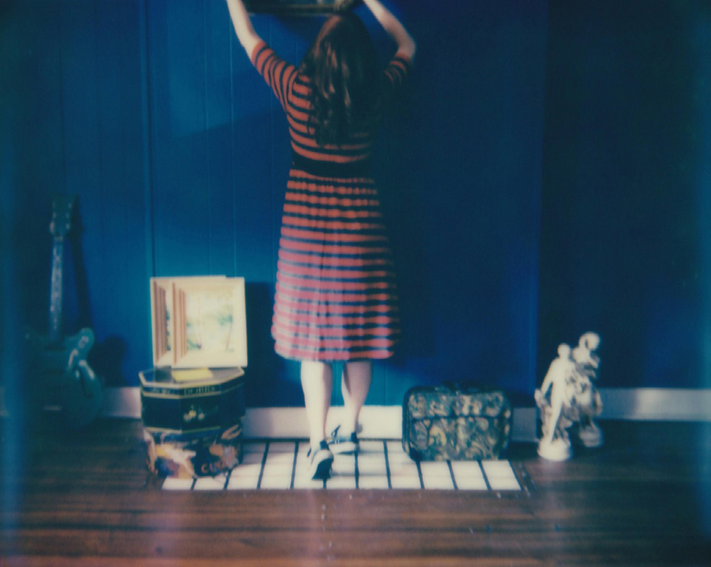 Beginnings  - Contemporary, Figurative, Woman, Polaroid, Photograph, 21st Centur