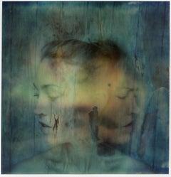 Dimensions in our Head - Mounted, Contemporary, Polaroid, Color, Conceptual
