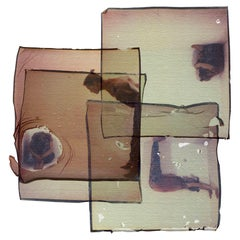 Out of Line - Mounted, Contemporary, Polaroid, 21st Century, Color, Conceptual