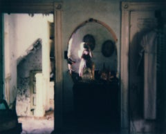 Rose-Colored Dream - Contemporary, Woman, Polaroid, Interior