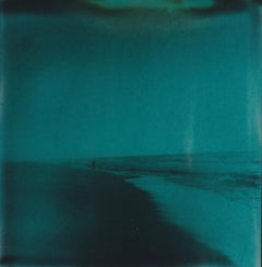 Miles from Home - Contemporary, Woman, Polaroid, Photography, Landscape, Color