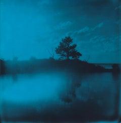 Island - Contemporary, Woman, Polaroid, Photography, Landscape, Color, 21st