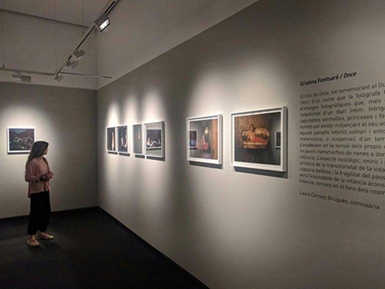 Little Hours - Contemporary, Polaroid, Photograph, Figurative, 21st Century - Black Color Photograph by Cristina Fontsare