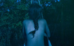 Chloe (Blue Journal Series) - Contemporary, Analog, Photograph, Figurative