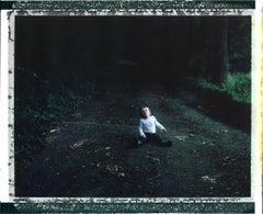 Emile (40x51cm) - Contemporary, Polaroid, Figurative, children