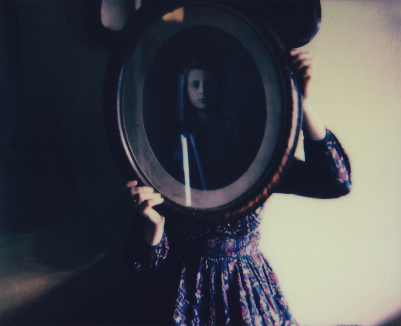 A Likeness - Contemporary, Figurative, Woman, Polaroid, Photograph, 21st Century