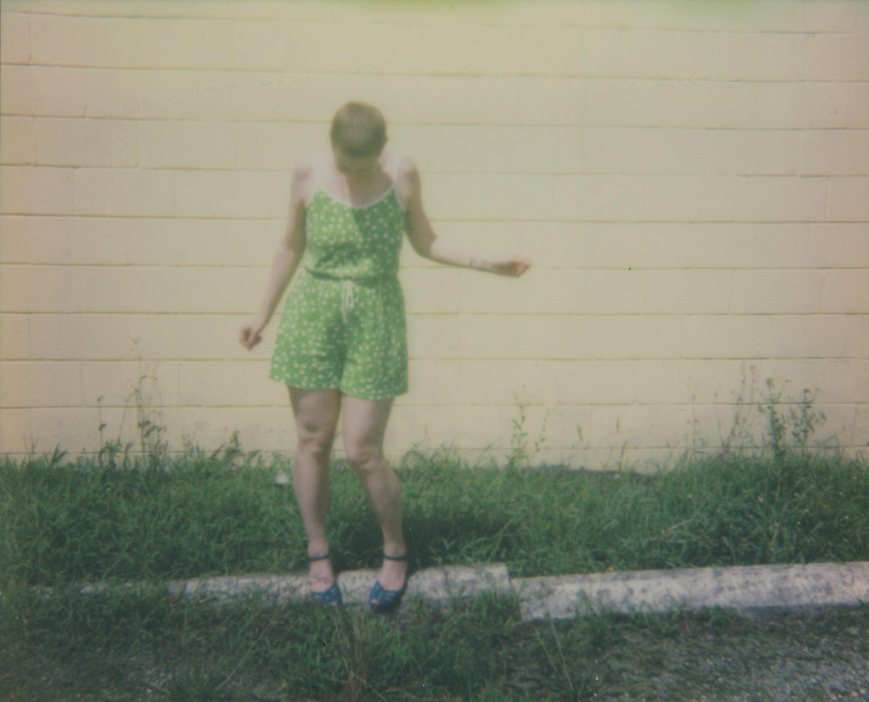 Freedom- Contemporary, Figurative, Woman, Polaroid, Photograph, 21st Century