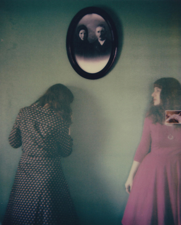 Palimpsest - Contemporary, Figurative, Woman, Polaroid, Photograph, 21st Century