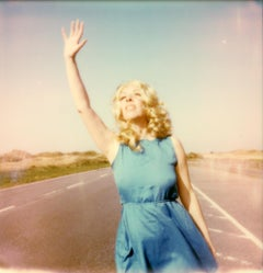 The Journey I - Contemporary, Polaroid, Photograph, Figurative, Portrait