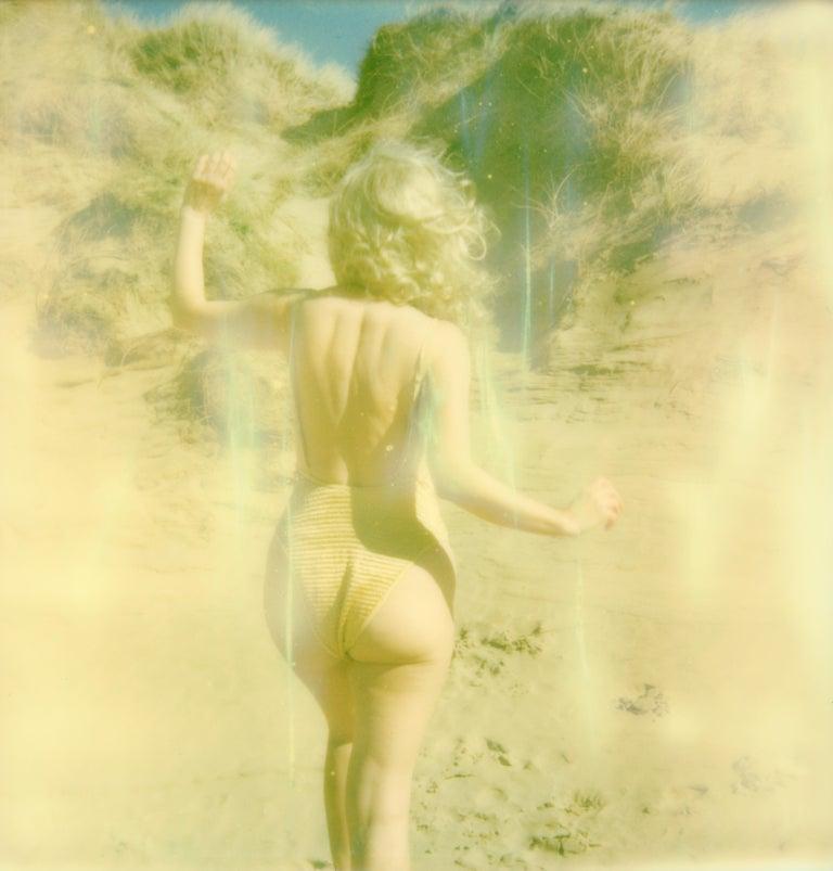Clare Marie Bailey Portrait Photograph - Golden - Contemporary, Polaroid, Photograph, Figurative