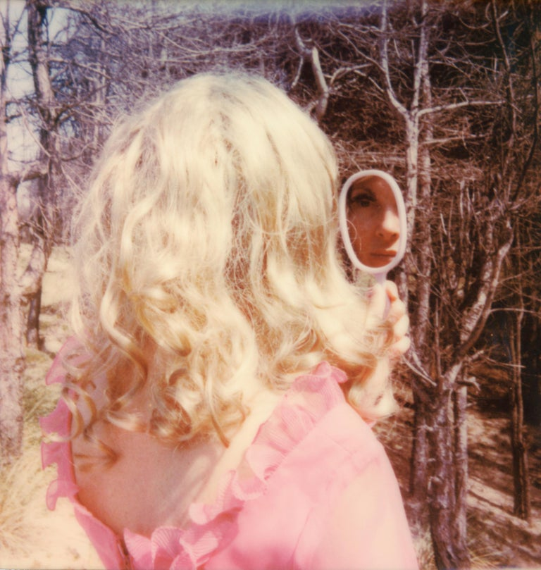 Clare Marie Bailey Portrait Photograph - Mirror - Contemporary, Polaroid, Photograph, Figurative, Portrait