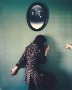 Nesting - Contemporary, Woman, Polaroid, Interior, 21st Century, Contemporary