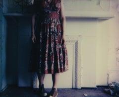 Forgotten House - Contemporary, Figurative, Woman, Polaroid, 21st Century