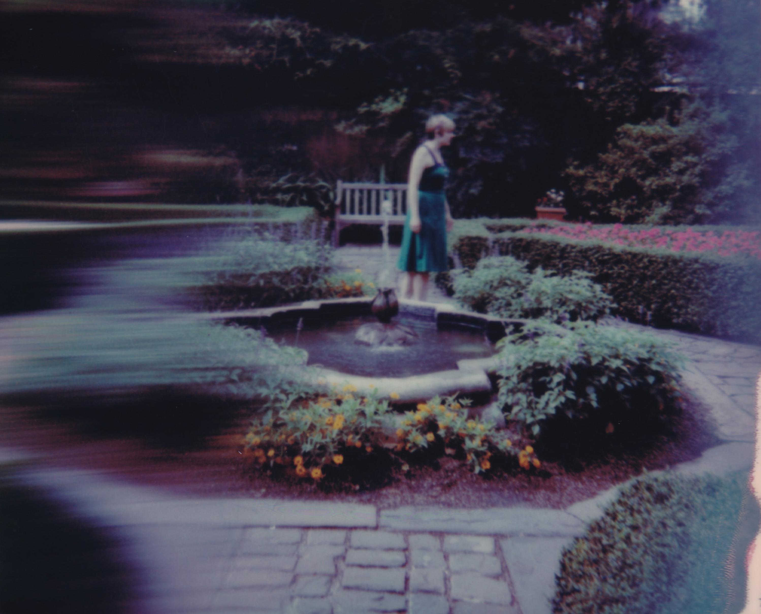 Emergence - Contemporary, Woman, Polaroid, Figurative, 21st Century, Landscape