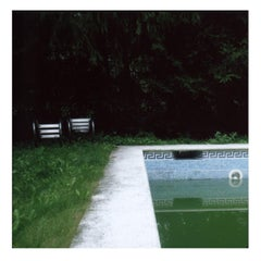 Forgotten Pool - Contemporary, Polaroid, Photograph, 21st Century