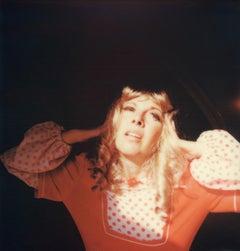 Look away Lucifer - Contemporary, Polaroid, Photograph, Figurative, Portrait
