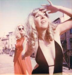 La Malla II - Contemporary, Polaroid, Photograph, Figurative, Portrait