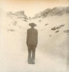 Mystery Man - Contemporary, Polaroid, Photograph, Figurative, Portrait