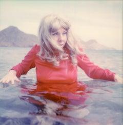 The Deep - Contemporary, Polaroid, Photograph, Figurative, Portrait