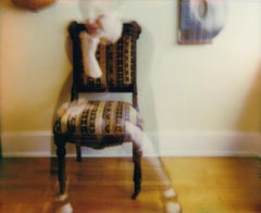 Coming into Focus - Contemporary, Woman, Polaroid, Photograph, 21st Century