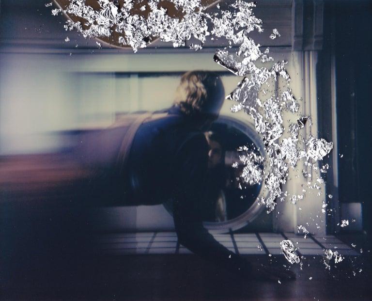 Lisa Toboz Color Photograph - Portal - Contemporary, Woman, Polaroid, Photograph, 21st Century