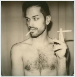Can't get enough (Self Portrait) - 21st Century, Contemporary, Polaroid