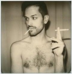 Can't get enough, Self Portrait, 21st Century, Contemporary, Polaroid