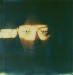 Self-Portrait - Mounted, Contemporary, Polaroid, Color, Portrait
