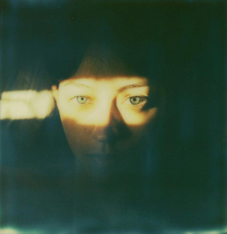 Leanne Surfleet Color Photograph - Self-Portrait - Mounted, Contemporary, Polaroid, Color, Portrait