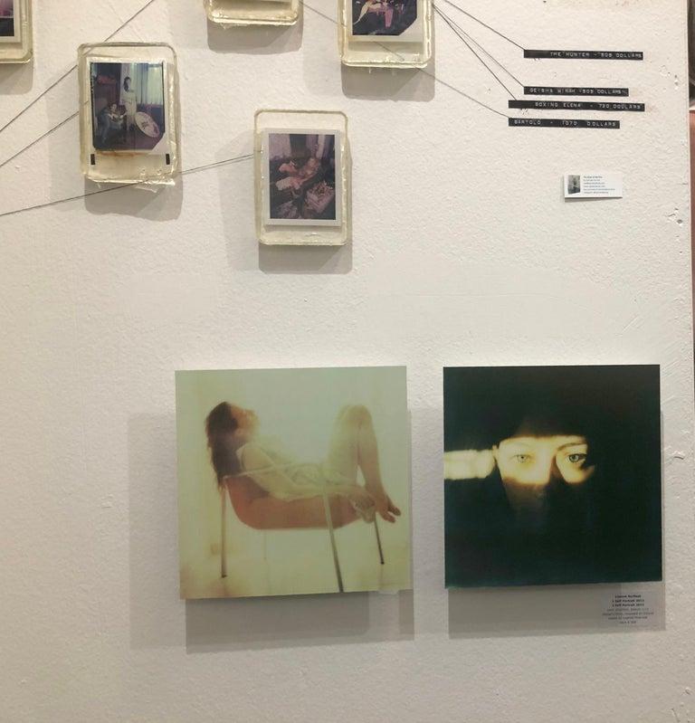 Self-Portrait - Mounted, Contemporary, Polaroid, Color, Portrait For Sale 2