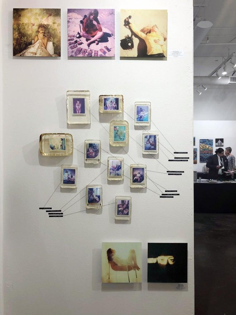 Self-Portrait - Mounted, Contemporary, Polaroid, Color, Portrait For Sale 3