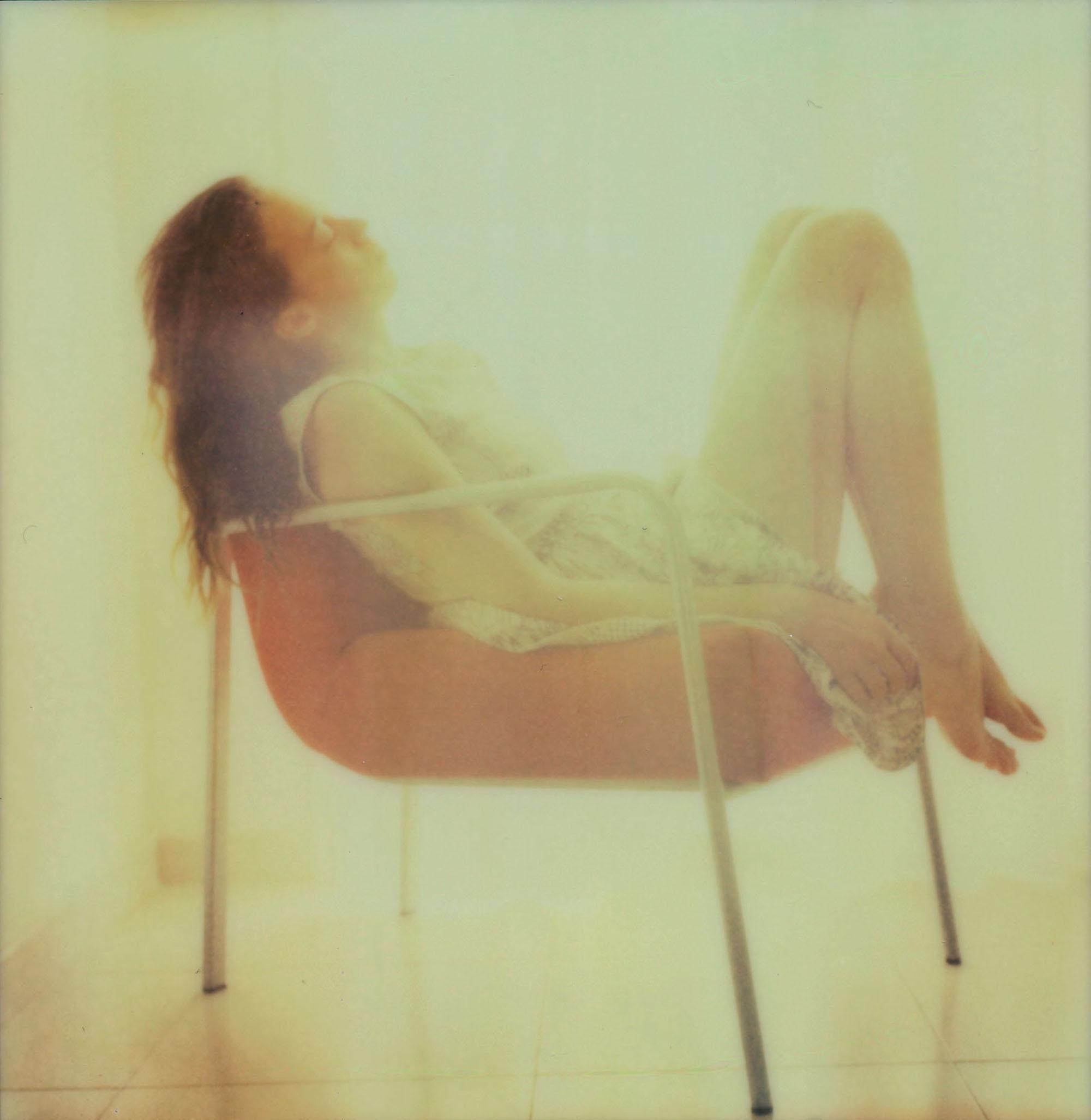 Self-Portrait II - Mounted, Contemporary, Polaroid, Color, Portrait