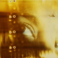 Ojos - Contemporary, Conceptual, Polaroid, 21st Century, Color, Portrait