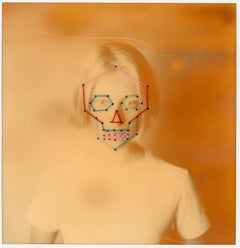 Tempus Fugit - Contemporary, Conceptual, Polaroid, 21st Century, Color, Portrait