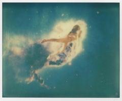 Nebula - Contemporary, Polaroid, Photograph, Abstract, 21st Century, Mermaid, Bl