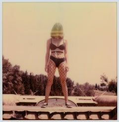Remove Before Flight - 21st Century, Contemporary, Polaroid, Nude