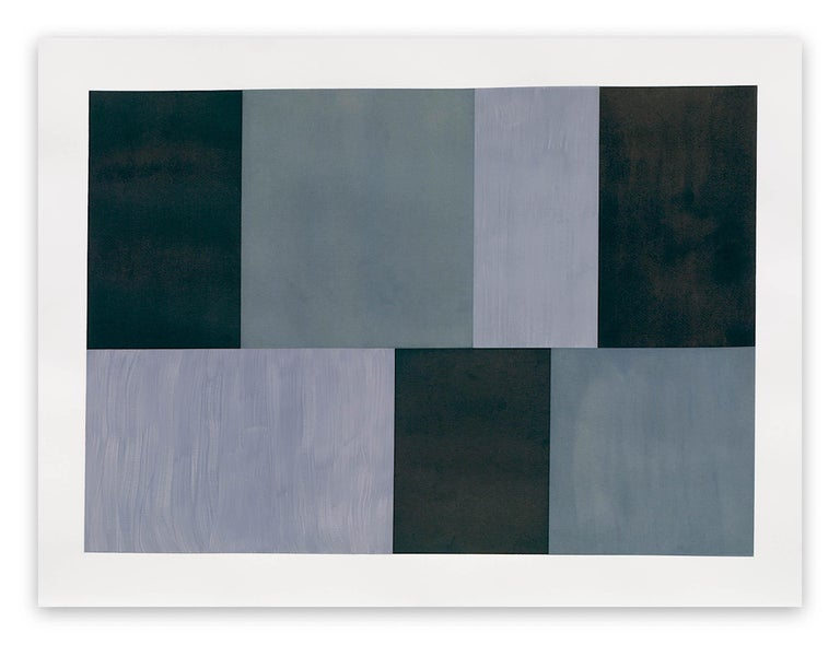 Tom McGlynn Abstract Drawing - Test Pattern 12 (Grey study)