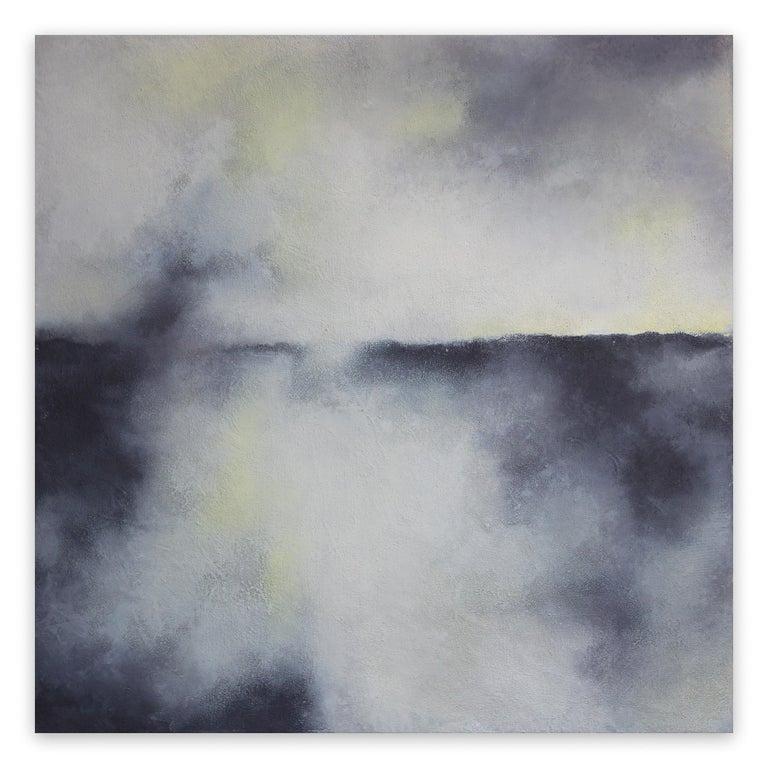 Francesca Borgo  Abstract Painting - Earth and Rain